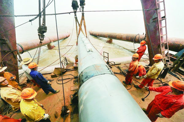 offshore pipeline corrosion protection
